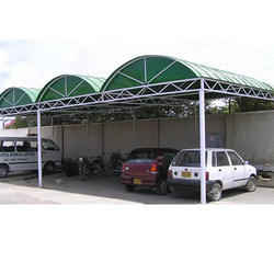 Car Parking Shed Crimping Sheet