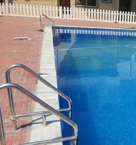 Stainless steel 304 swimming pool ladders rs 18000 piece - Removable swimming pool handrails ...