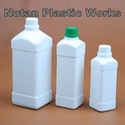 Square Shaped HDPE Containers