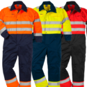 Reflective Hi-Viz Safety Coveralls