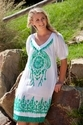 Embroidery Tunic Kaftan
