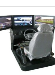 Triple Screen Car Simulator