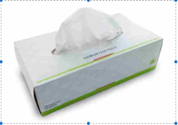 Vrol White Facial Tissue Papers, Size: 20 x 20 cm