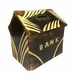 20 inch Wooden Money Bank