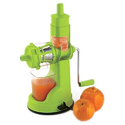 Plastic Green Hand Juicer