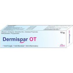 Dermispar OT Antifungal Cream for Personal, Packaging Size: 15 G