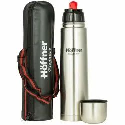 Hoffner 0.75L S.S Thermos with Bag for Home