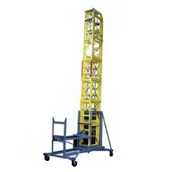 Fiberglass Mobile Telescopic Tilting Ladder