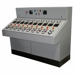 0.75-7.5kw Three Phase Control Desk With Mimic Panel, For Plc Automation