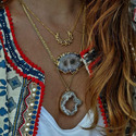 Statement Design Large Collar Choker Necklace for Women