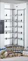 Glass pantry Pull out 450/600mm