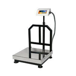 Platform weighing scale -ss pan