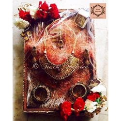 Shagun Platter Wedding Gift