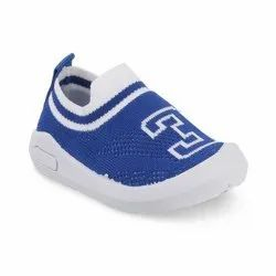 KTB569 Blue Kids Slip On Shoes
