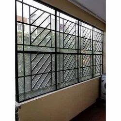 White Balcony Mesh Window