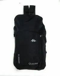 Polyester Sanchi Creation Waterproof Backpack (Black, 10 L)