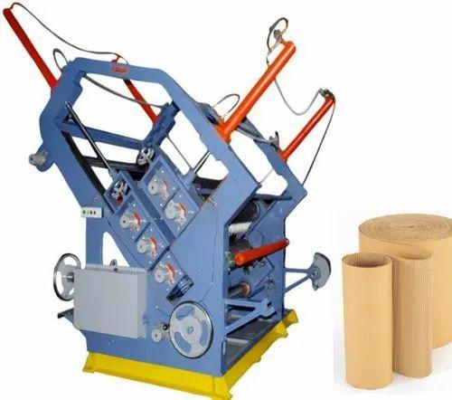Oblique Type Bearing Mounted Corrugation Machine