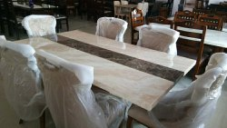 Marble Dinning Table Set