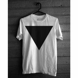 Mens Printed Cotton T Shirt