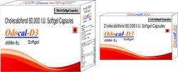 Cholecalciferol 60000 I.U. Softgel Capsules