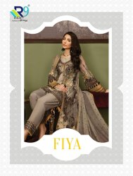 Georgette Semi-Stitched Pakistani Salwar Suits