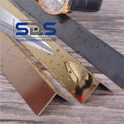 Stainless Steel L Shape Profiles