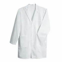 Full Sleeve White Medical Apron, For Hospital