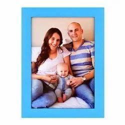 Rectangle Plastic Photo Frame, Size: 4x4, 6x4, 5x7, 10x14 Cm