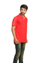 Adidas Men's Red Polo T-Shirt