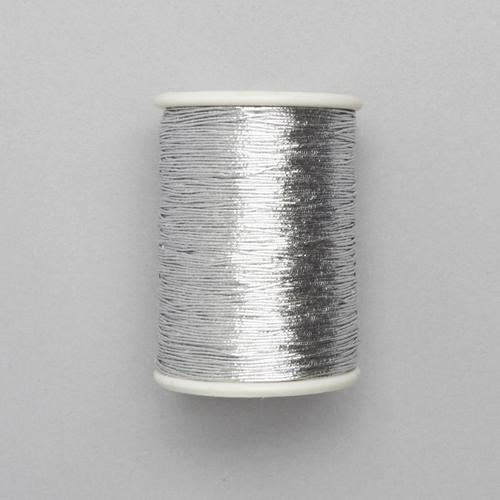 Polyester Silver Zari Thread, For Embroidery Work