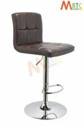 MBTC Cadbury Cafeteria Bar Stool Chair In Brown