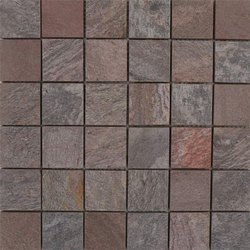 Capstona Stone Mosaics Rustic Copper Polish Tiles
