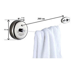 Stainless Steel Round Shape Clothes Line