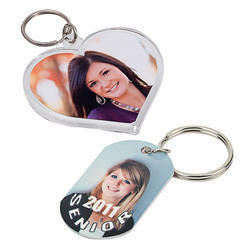 SUBLIMATION BLANK KEYRING