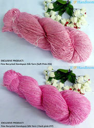 Recycled Sari Silk Knitting Yarn