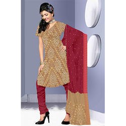 Bandhej Stylish Suit