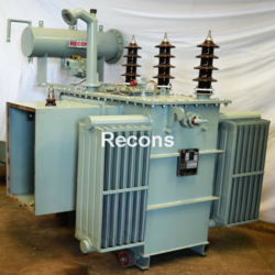 Oil Cooled Transformer with OLTC