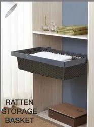 Rattan Storage Basket for Kitchen, Size: 600mm & 900mm