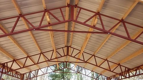 Aluminum Steel Roof Trusses Rs 350 Square Feet Vsr
