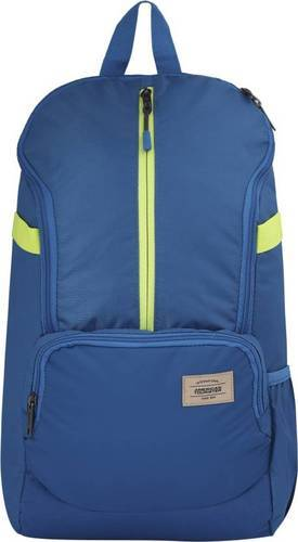1e06ae7bac Polyester Blue American Tourister Cubo Plus 02 21 Backpack