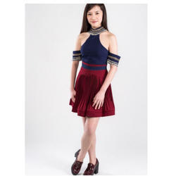 Small &Medium Sue Pleated Skirt