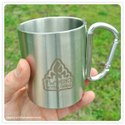 Steel Mug With Laser Marking