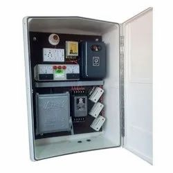 Grey, White Agriculture starter FRP control panel, Operating Voltage: 240-440 V, Degree of Protection: IP65