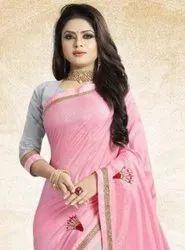 TIZ 636 Colorful Fancy Stylish Dola Silk Saree Catalog