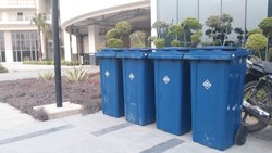Wheeled Garbage Can