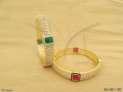 American Diamond Bangles Jewellery