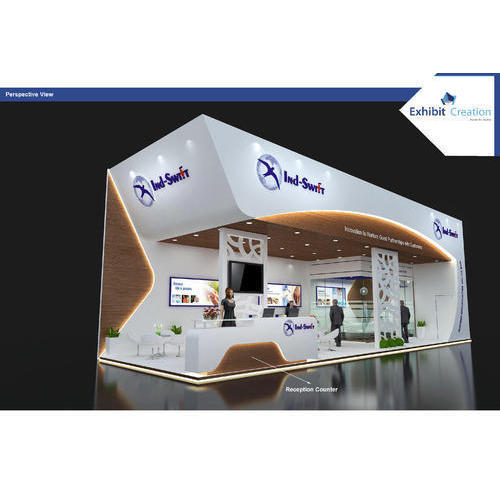Exhibition Stall Reception : Fabricated exhibition stall at rs square meter new delhi