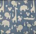 Blue Curtains Fabrics