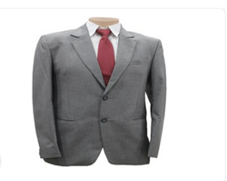 Grey Plain S B Suits
