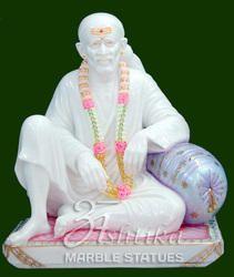 Marble Dwarka Mai Statue